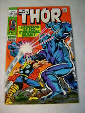 THOR #170 JACK KIRBY, STAN LEE, 1969, THERMAL MAN, THUNDER GOD!!!