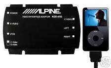 Original Alpine Kce-415i Video Ipod Adaptador Nuevo