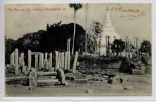 (Gg386-100) Ruined City, Anuradahupura, Sri Lanka, CEYLON 1909 Used G-VG