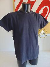 USATO FOOT LOCKER Maglietta XL T-Shirt Top Nero Blu Vintage Slim Fit Muscle