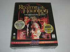 Realms of the Haunting Limited Edition PC CD ROM-Original Big Box-Neuf Scellé