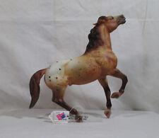 Breyer # 702495 Rawhide Wild Roan Appaloosa Semi-Rearing Mustang Made in the USA