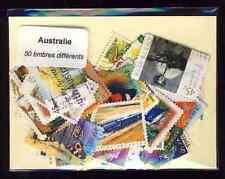 Australie - Australia 50 timbres différents
