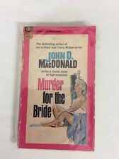 Murder for the Bride by John D MacDonald 1951 (PB)-Fair GOLD MEDAL BOOK k1537
