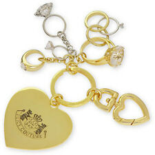 Juicy Couture Key Ring fob Purse Charm Engagement Wedding Rings NWD