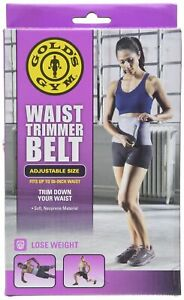 "Gold's Gym Waist Trimmer Belt 8"" - SAME DAY SHIPPING"