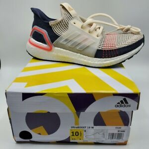 Adidas Women's UltraBoost 19 Clear Brown Running Shoes F35284 Size 10.5