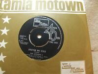 "The Jackson 5 – Doctor My Eyes 1972 I 7"" Tamla Motown TMG 842"