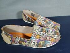 Bobs For Cats Sketchers memory foam woman's  Size 7.5 Slip on flats Cool Cats