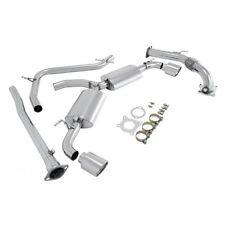 Manzo Stainless Steel Catback Exhaust Muffler Fits Golf VI GTI 2.0T MK6 10-13