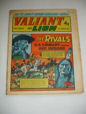 VALIANT And LION comic 31st August 1974.