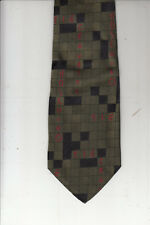 Moschino-Authentic-100% Silk Tie-Made In Italy-Mo1- Men's Tie