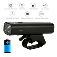 28000LM LED Bicycle Head Light Waterproof USB Rechargeable Front Light Bike Lamp