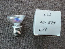 12V Halogenglühlampe mit Fassung E27, 50W, KLS