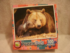 New 100 Piece Mommy And Baby Bear Puzzle
