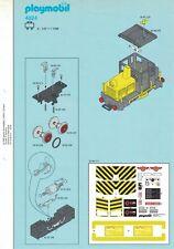 Playmobil Bauanleitung 4024 Güterzug