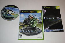 Halo Combat Evolved Microsoft Xbox Video Game Complete