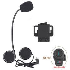 New Helmet Headset Speaker Kit Set for Bluetooth Motorcycle Intercom Inter-phone