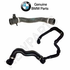 For BMW F10 528i xDrive Pair Set of Upper & Lower Radiator Coolant Hoses Genuine
