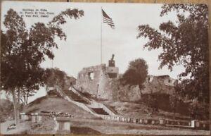 Santiago de Cuba 1930s Realphoto Postcard: 'El Viso Fort, Caney, Fuerte El Viso'