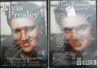 Elvis Presley The legend lives on a tribute to the kin Dvd Sigillato