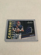 2018 Absolute Jim Kelly Canton Absolutes Jersey Relic SP #34/199 Bills