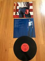 Bruce Springsteen - Born in the USA LP 1984 Columbia QC 38653 VG+ w/insert