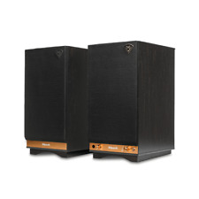 Klipsch Sixes Ebony Powered  Bookshelf Speakers (1pr) B Stock