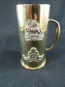 Trench Art Brass Tankard Royal Berkshire Regiment WW1 c.1914-18