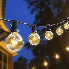Hidixon Outdoor String Lights 26FT G40 Tungsten Bulbs Festoon Garden Patio Garde