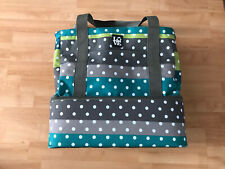 Insulated Cooler Picnic Tote Bag By LoveBag Made With Recycled Plastic Green