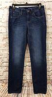 Sonoma jeans womens 2 curvy straight mid rise new medium wash stretch M9