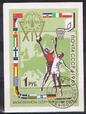 CCCP / USSR gestempeld 1965 Blok 40 - Basketbal