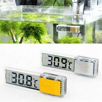 3D LCD Digital Aquarium Garnelen Aquarium Temperatur Meter Aufkleberthermometer