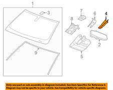 GM OEM Inside Rearview Rear View Mirror-Cover Cap Trim 23422452