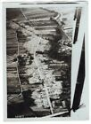 WWI Aerial View of Ruins of Village Auve Marne France 5x7 Original M. Rol Photo