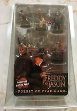 "NECA WIZKIDS Freddy VS Jason Voorhees Forest of Fear Game 1.7"" x 6 Figures set"