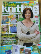 March Monthly Simply Knitting Craft Magazines