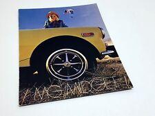 1974 MG Midget Brochure