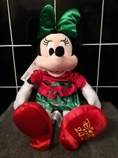 Disney Store - Christmas Minnie Mouse 2019 Plush - Brand New With Tags.