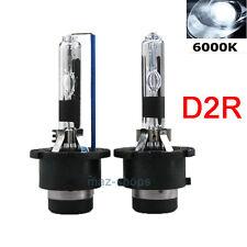 2Pcs AC HID Xenon Headlight Replacement Bulbs 6000K D2R For Nissan 350Z 03-05
