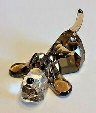 "Swarovski Crystal Lovlots Gang of Dogs ""Peppino the Basset Hound"" Figurine, Box"