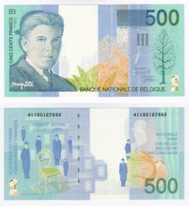 BELGIUM 500 Francs Banknote (1998) P.149a - UNC.