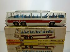 DINKY TOYS SUPERTOYS 952 VEGA MAJOR LUXURY COACH  - GOOD IN BOX