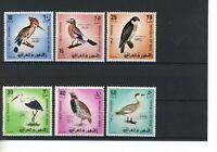 Irak MiNr. 521-26 postfrisch MNH Vögel (Vög3130