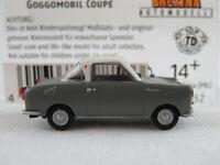 Brekina 27852 Goggomobil Coupé TS 250 (1957-1969) in grau/weiß 1:87/H0 NEU/OVP