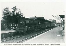 AK · Dampf-Lok 05 001 (Umbau) - DB - Wuppertal-Oberbarmen - 1954