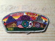 1991 World Boy Scout Jamboree North Central Region USA Contingent Patch