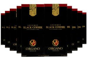 10 Cajas Organo Gold Ganoderma Black Coffee Negro Café 300 Bolsita Envío Gratis