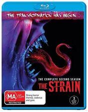 The Strain : Season 2 (Blu-ray, 2017, 3-Disc Set)